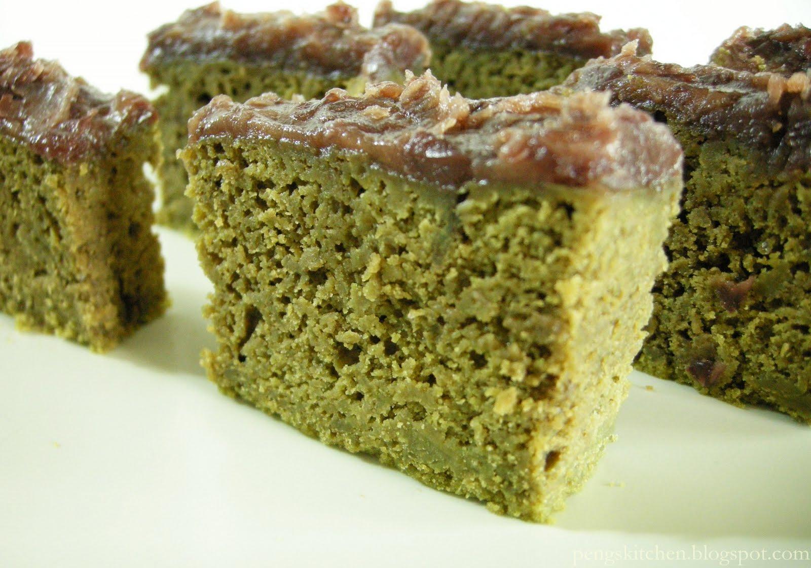 Green Tea Cake Recipe Japanese: Peng's Kitchen: Steamed Matcha Cake