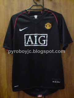 my jersey collection manchester united 2007 2008 away jersey my jersey collection blogger