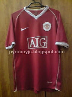 05729dd712d My Jersey Collection  Manchester United 2006-2007 Home Jersey