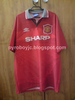 finest selection 681e5 629b4 My Jersey Collection: Manchester United 1993-1994 Home Jersey