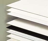 tipos de carton pluma