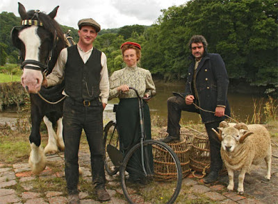 Alex, Ruth  & Peter  from BBC2's 'Edwardian Farm'