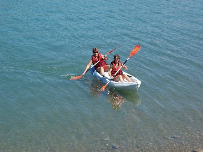 ocean duo kayak autovideur 2 places
