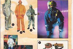 Fire Fighting Outfits / Peralatan Pemadam Kebakaran