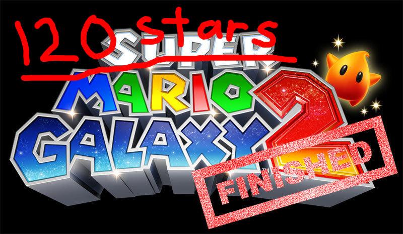 Gameritis: Super Mario Galaxy 2...120 stars complete!
