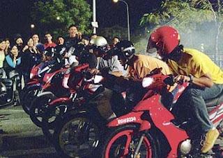 illegal racing statistics malaysia