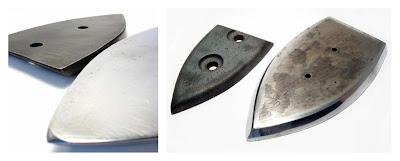 blocchetti incudine metallo