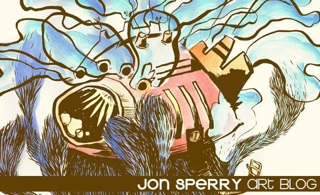 Jon Sperry Art Blog