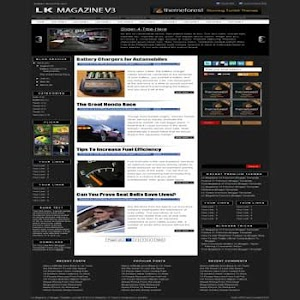 LK Magazine V3 Blogger Template