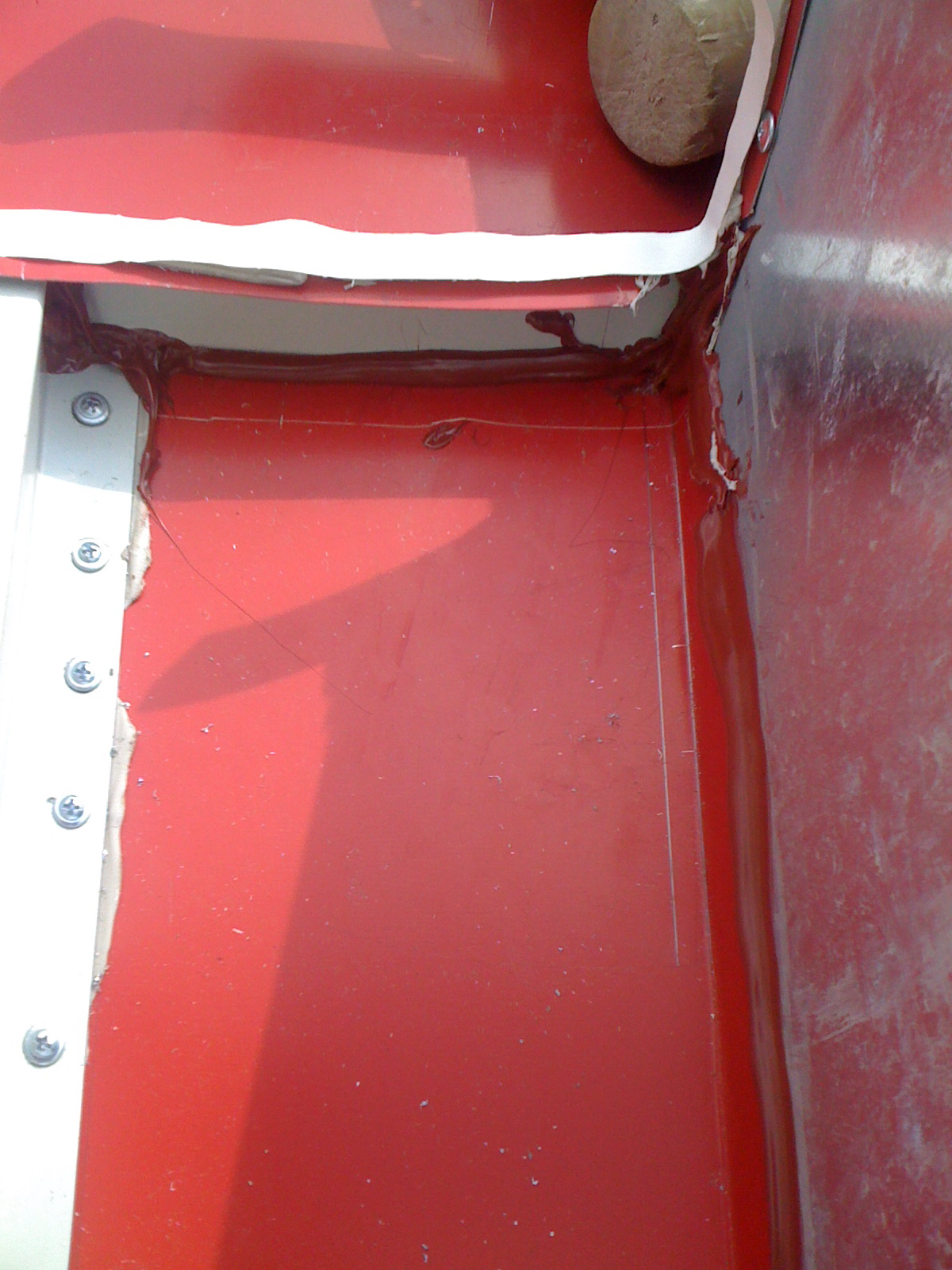 Architectural Sheet Metal Work Curb Detail On Snap On Panels