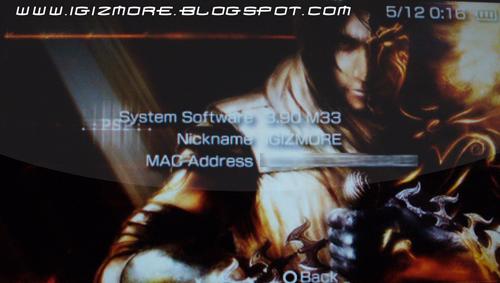 Psp custom firmware update 3. 52 m33-4. Rar.