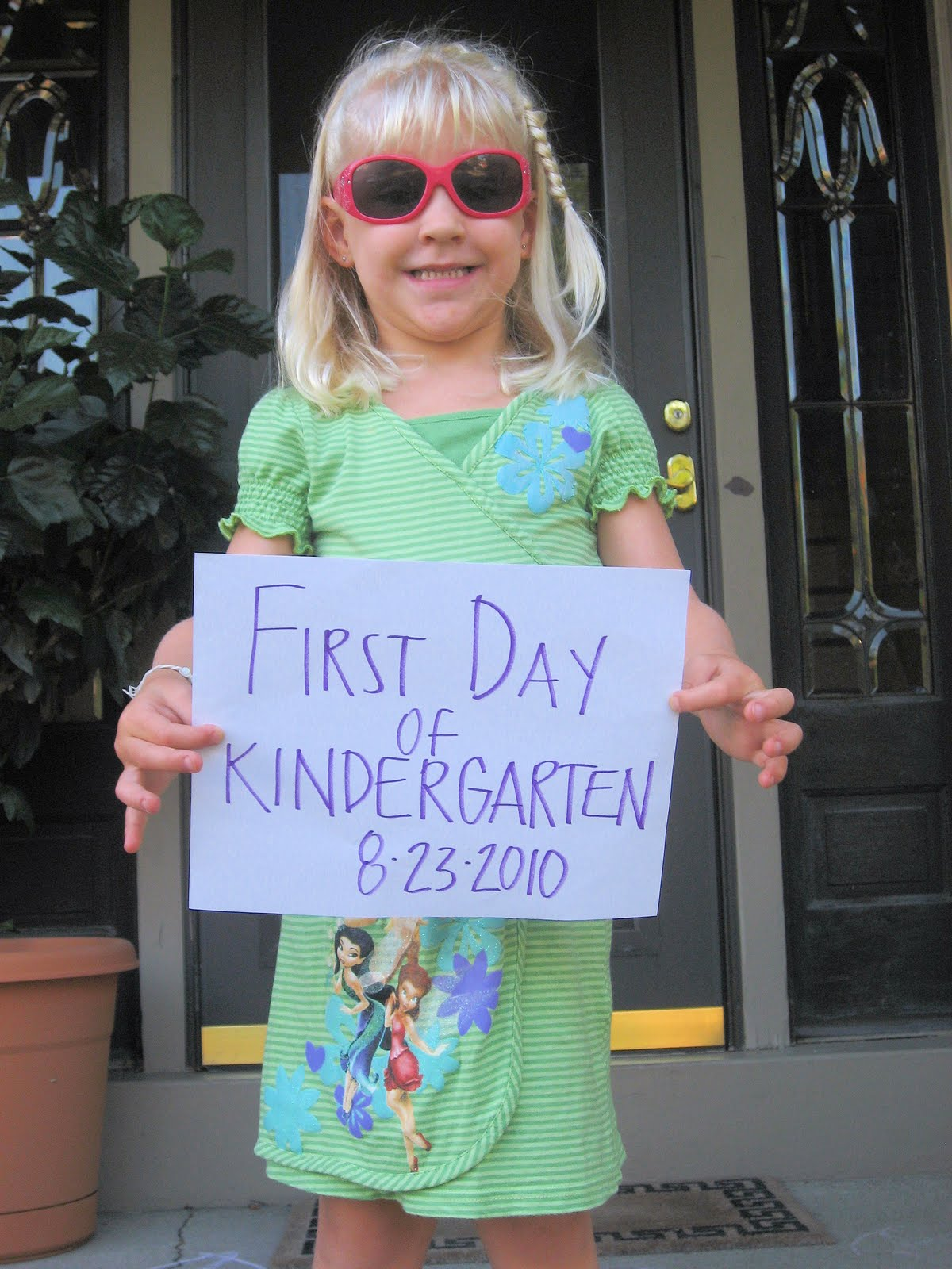 Kinder Garden: Annalise's First Day Of Kindergarten