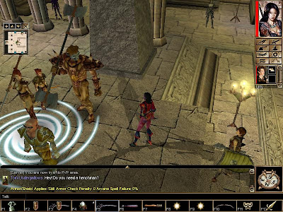 Neverwinter Nights Adventureing: 128 Joining the Red Tiger