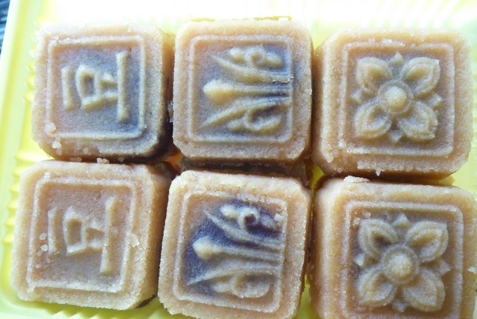小妙妙與妮寶寶: 生計食品綠豆糕