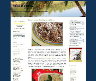 Malabar Spices   : Spring Cleaning And Template Change
