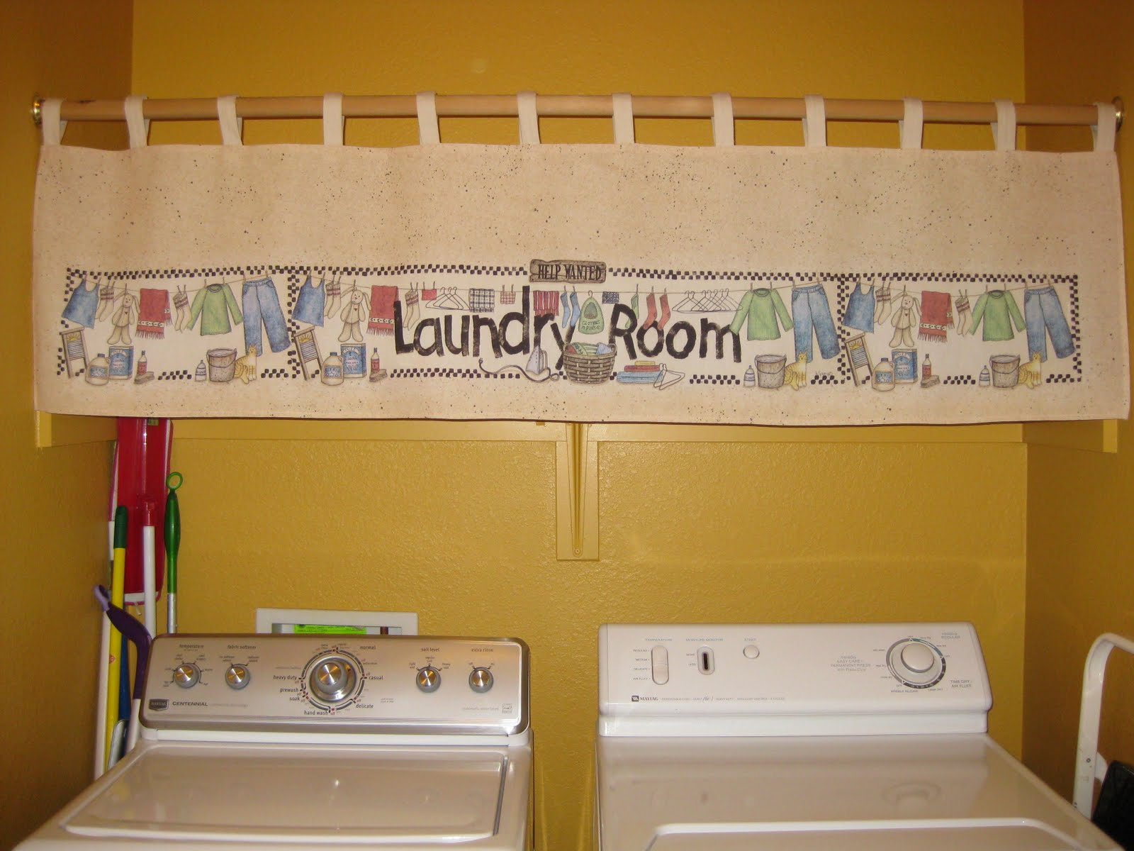 Curtains Valances 20 For 2 Made My Laundry Room