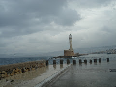 the lighthouse of hania