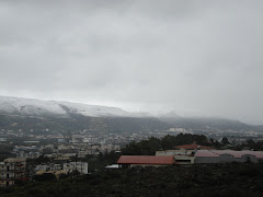 snow on the mountains of souda