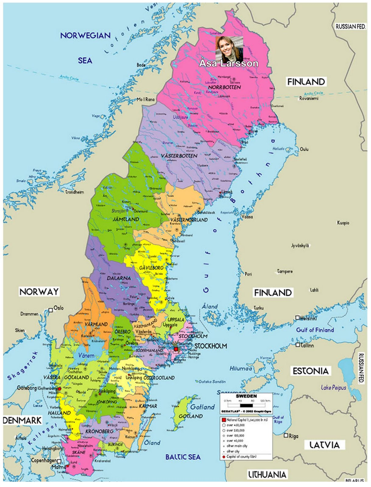 suecia mapa Mapa Geografico Suecia suecia mapa