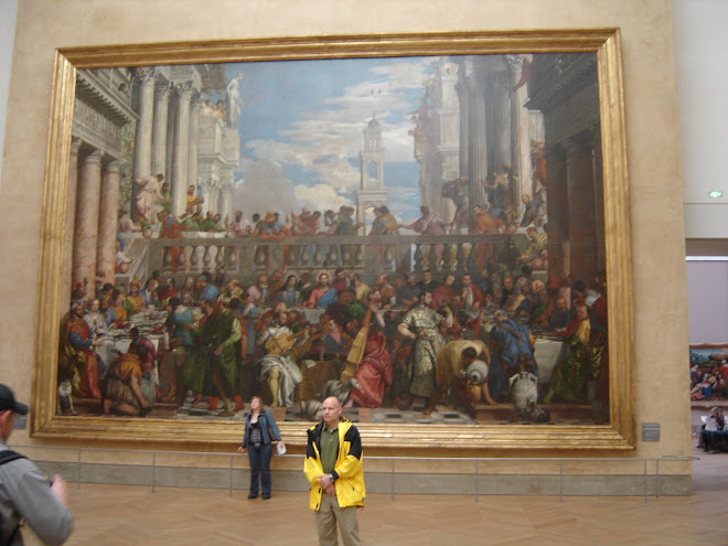 BIG PAINTINGS!!  The Louvre
