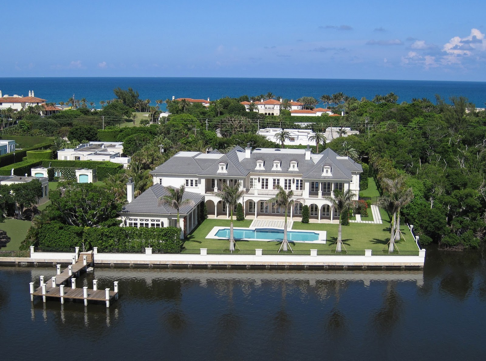 Palm Beach Home Builders Tours And Photos Of The Biggest Houses In Florida