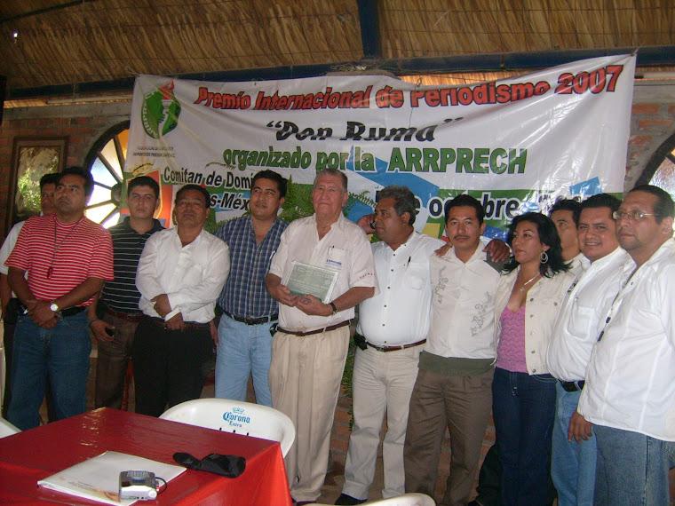 Delegación Villaflorez Reconoce a Julio Archila Gómez