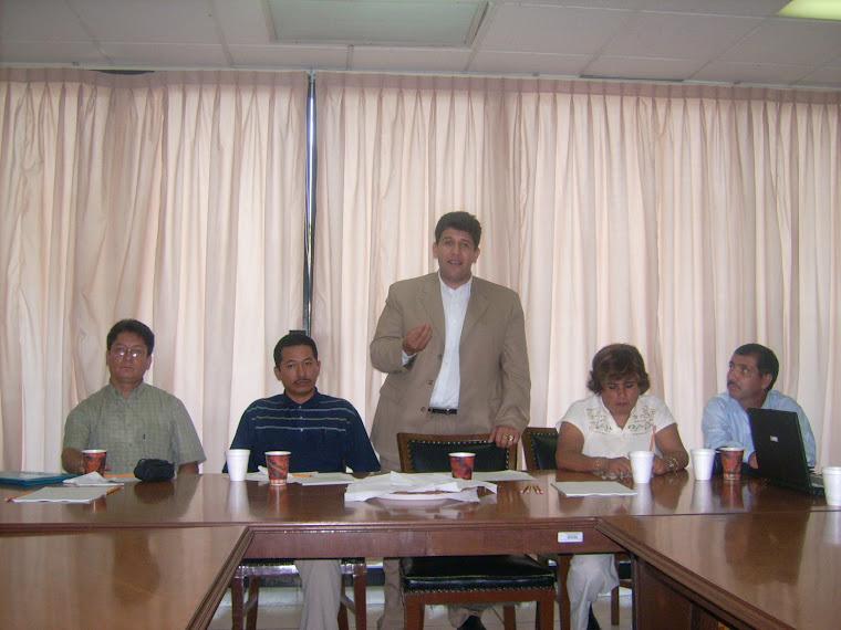 Aspectos de las mesas de Trabajo Tapachula, Dic. 2007