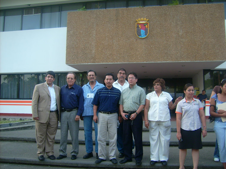 Foto del Primer dia de trabajo en Tapachula, Diciembre 15 2007