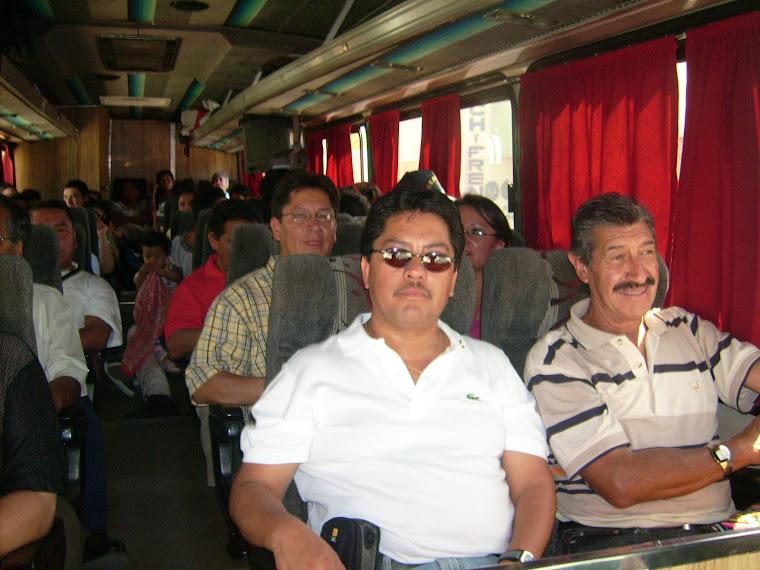 Encabezados por el Gobernador de San Marcos Guatemala, Axel Humberto López Anzueto.