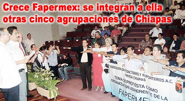 La ARRPRECH, A.C. se afilia a la FAPERMEX