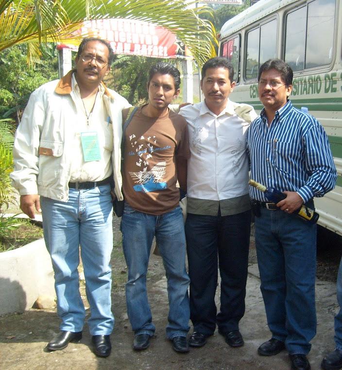 Calido Recibimiento del Ex Gobernador de San Marcos Guatemala, Axel Humberto Lòpez Anzueto