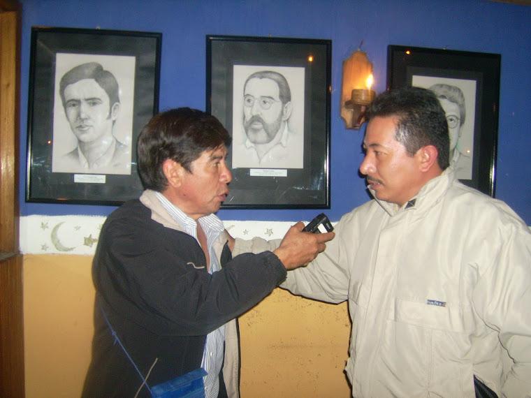 Sergio Marìn en la entrevista