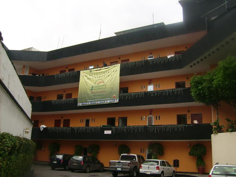 Cabildos Hotel sede del Primer Congreso de Periodistas Sin Fronteras Mèxico—Centroamerica