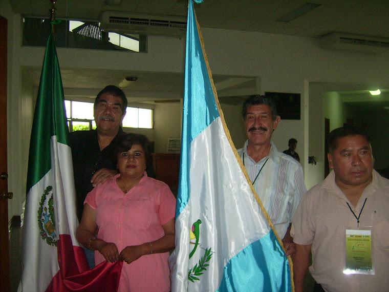 Abanderados Mèxico—Guatemala