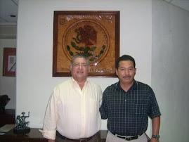 Ministro de Justicia Amador Rodríguez Lozano y el Presidente de la ARRPRECH, A.C.
