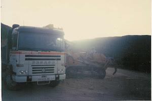 Construcción de viales en planta Eólicas de Tarifa