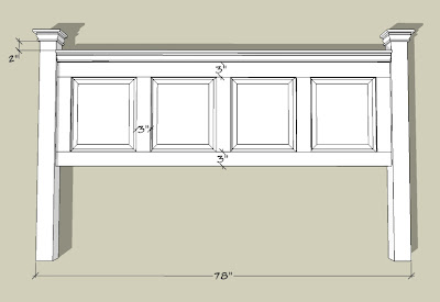 Headboard Measurements For A Twin Bed