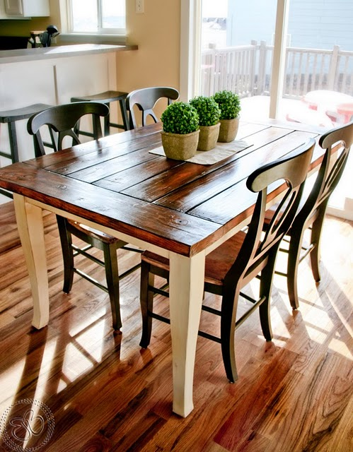 Wondrous Remodelaholic This Table Is The Tops Guest Party Highlight Andrewgaddart Wooden Chair Designs For Living Room Andrewgaddartcom