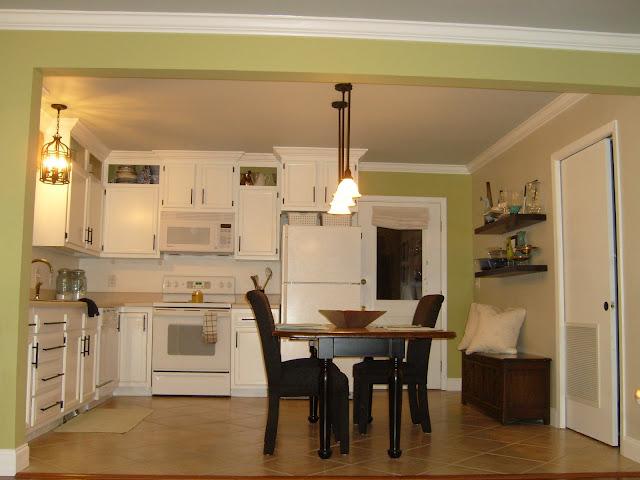 Cut Kitchen Cabinets Half To Get Bathroom Storage