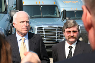 LQ Magazine News: Senator John McCain Visits Werner