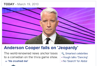 Project Child Murdering Robot: Why Does Anderson Cooper Look