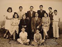 Bisabuelo Manuel Vicente, hijos, yernas y nietos 1937