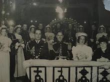 Matrimonio del Capitan Alberto Vizcarra con Lola Gonzales
