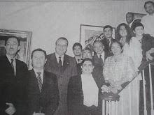 Visita del Canciller Allan Wagner al Consulado de Nueva York en 2005
