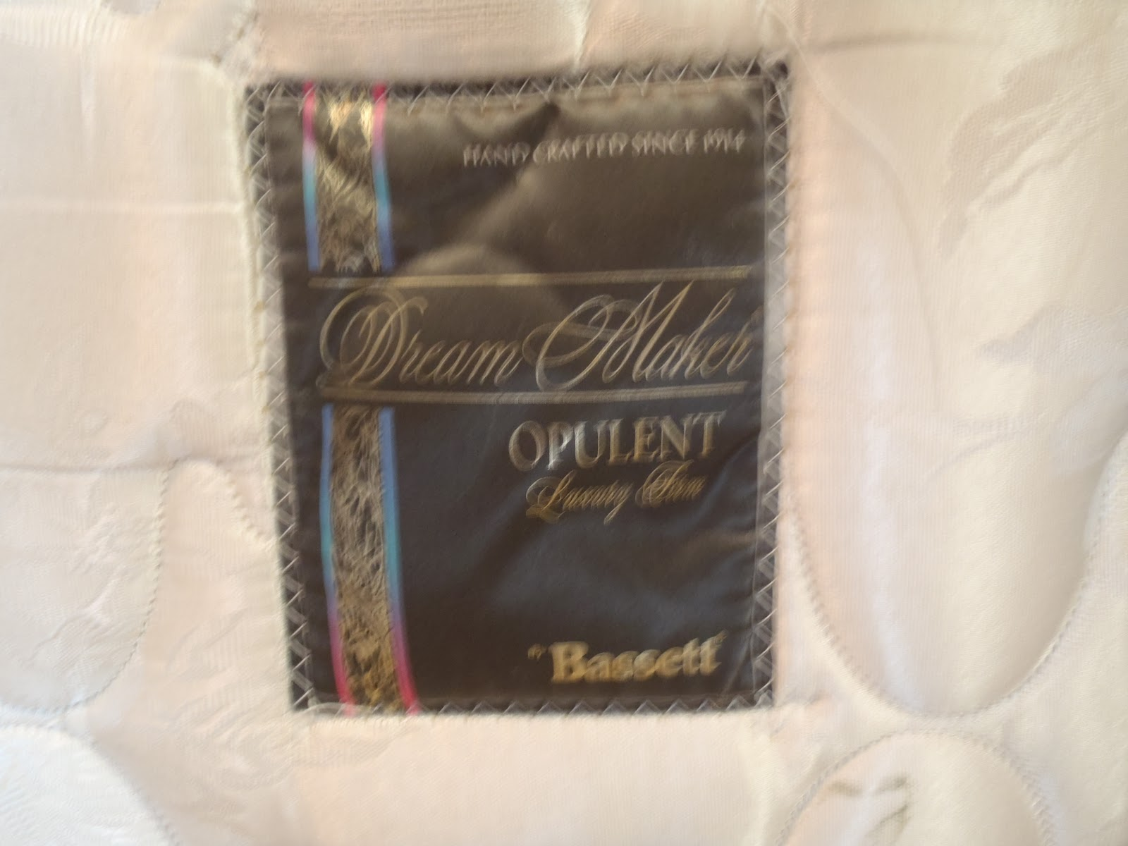 Blog Sale Bassett Full Size Mattress and Box Spring