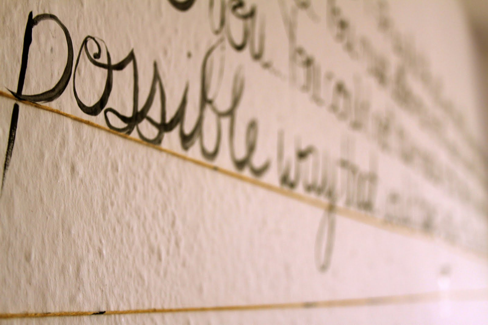 DIY Wall Art Tutorial: Easy Inspirational-Quote Painted Canvas