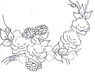 pintura em tecido risco