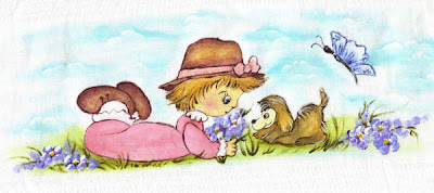 pintura em tecido infantil fralda menina