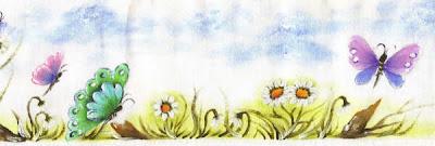 pintura em tecido infantil fralda borboleta