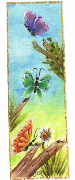 pintura em tecido marcador